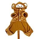ieftine Brățări-Câine Costume Hanorace cu Glugă Ținute Îmbrăcăminte Câini Animal Terilenă Costume Pentru Iarnă Cosplay Halloween