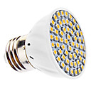 abordables LED à Double Broches-3500 lm E26/E27 Spot LED MR16 60 diodes électroluminescentes SMD 3528 Blanc Chaud AC 110-130V AC 220-240V