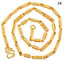 hesapli Kolyeler-Erkek Zincir Kolyeler - Gümüş, Altın Kolyeler Uyumluluk Günlük
