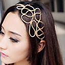 hesapli Saç Takıları-Kadın's Zarif Kumaş / alaşım Saç Bandı - Çiçekli / Saç Bantları / Saç Mücevheri / Saç Bantları