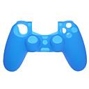 hesapli Tablet Kılıfları-Oyun Kontrolörü Kasa Koruyucu Uyumluluk PS4 ,  Oyun Kontrolörü Kasa Koruyucu Silikon 1 pcs birim