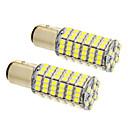 billige LED Bil Pærer-2pcs BAY15D(1169) Bil Elpærer SMD 3020 660 lm LED Hovedlygte For Universel