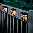 hesapli Dış Ortam Lambaları-1pc Gece Lambası Güneş Enerjisi Dekorotif
