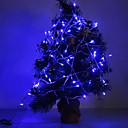 hesapli LED Şerit Işıklar-10m Dizili Işıklar 100 LED'ler Mavi 220 V