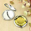 hesapli Kişiselleştirilmiş Yenilikçi Ürünler-Kişiselleştirilmiş Hediye Kedi Desen Krom Kompakt Ayna