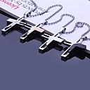 hesapli Kolyeler-Kişiselleştirilmiş Hediye Kolyeler Paslanmaz Çelik Erkek İş Klasik Aşıklar Tatil Hediye