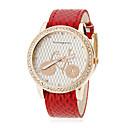 preiswerte Damenuhren-Damenfahrrad Muster Snakeskin Art PU-Band Quarz-Armbanduhr Analog (verschiedene Farben)
