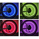 cheap Bike Lights-Bike Light / Valve Cap Flashing Lights / Wheel Lights LED Bike Light Cycling Cell Batteries Battery Cycling / Bike - FJQXZ / IPX-4