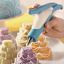 abordables Gadgets & Ustensiles de Cuisine-Outils de cuisson Acier inoxydable / Plastique Economique Gâteau / Tarte / Chocolat Outil de décoration 1pc