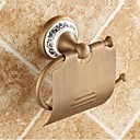 رخيصةأون أدوات الحمام-حاملة ورق التواليت جودة عالية أنتيك نحاس خزفي 1 قطعة - حمام الفندق