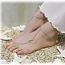 hesapli Saç Takıları-Ayak bileziği Barefoot Sandalet - Sonsuzluk Gümüş / Bronz / Altın Uyumluluk Günlük Kadın's