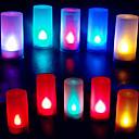 Χαμηλού Κόστους Επιτοίχια φωτιστικά-1pc Φως κεριών Μπαταρία Διακοσμητικό