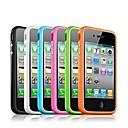 hesapli iPhone Kılıfları-Pouzdro Uyumluluk iPhone 4/4S Tampon Yumuşak TPU için iPhone 4s / 4