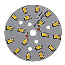 ieftine LED-uri-dm 1pc 9w 500-550lm 18 x 5730 smd led-uri patch led lumina sursă de lumină cald lumină albă 3000-3500 k substrat de aluminiu (dc21-24v, 300ma)