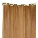 hesapli Makyaj ve Tırnak Bakımı-İnsan Saç Uzantıları Düz / Klasik Gerçek Saç Postişleri Sentetik Saç Kadın's