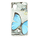 ieftine Carcase&Huse-Maska Pentru LG Nexus 5 / LG Model Capac Spate Fluture Moale TPU