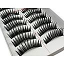 cheap Makeup & Nail Care-Eyelash Extensions False Eyelashes 20 pcs Volumized Curly Extra Long Fiber Daily Lengthens the End of the Eye - Makeup Daily Makeup Cosmetic Grooming Supplies