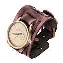 ieftine Brățări Bărbătești-moda 20cm ceas maro bratara din piele pentru bărbați (maro) (1 buc)