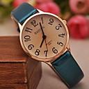 preiswerte Damenuhren-Damen Armbanduhr Quartz Schlussverkauf PU Band Analog Charme Modisch Schwarz / Weiß / Blau - Braun Rot Blau Ein Jahr Batterielebensdauer / SSUO LR626