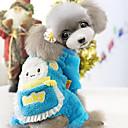 hesapli Köpek Giyim ve Aksesuarları-Kış - Mavi / Gül - Cosplay - Polar Kumaş - Paltolar - Köpekler - XXL