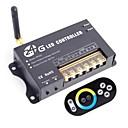 preiswerte Schalter & Steckdosen-8a 3-Kanal 2,4 GHz Wireless-Smart-RGB-LED-Controller mit Touch-Fernbedienung für RGB LED Streifen Lampe (DC 5 ~ 24 V)