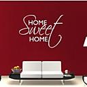preiswerte Stickers für die Dekoration-Dekorative Wand Sticker - Worte & Zitate Wandaufkleber Abstrakt Mode Worte & Zitate Fantasie Wohnzimmer Esszimmer