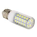 hesapli LED Mum Işıklar-3.5W 300-350lm E26 / E27 LED Mısır Işıklar T 48 LED Boncuklar SMD 5730 Doğal Beyaz 220-240V