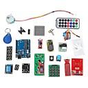 ieftine Accesorii Wii-Kit de învățare sistem RFID w / uno R3 pas RFID de motor modul RFID IC carte RFID breloc IC pe baza de Arduino