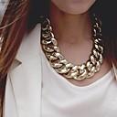 olcso Divat nyaklánc-Női Nyakláncok Nyilatkozat Európai Arany Ezüst Nyakláncok Ékszerek Kompatibilitás Parti Különleges alkalom Születésnap Ajándék