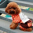 preiswerte Bekleidung & Accessoires für Hunde-Hunde / Katzen - Winter - Polar-Fleece - Hochzeit / Cosplay - Rot / Orange - Mäntel / Kapuzenshirts - XS / S / M / L / XL