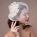 hesapli Saç Takıları-Kristal / Kumaş / organza  -  Tiaras / Fascinators / Çiçekler 1 Düğün / Parti / Gece Başlık / Şapkalar