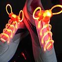 Недорогие Органайзеры для рабочего стола-водить спортивные шнурки шнурка шнурка свечки шнурка круглые проблесковые свет шнурки светящиеся шнурки шнурка