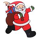 billige Instrumenter og tilbehør-santa claus dør / vindue / wall stickers julepynt