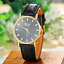 Buy Women's Fashion Style Geneva Leather Band Quartz Analog Wrist Watch (Assorted Colors) Cool Watches Unique