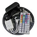cheap Car Mounts & Holders-5M 300leds Led Strip Lights Kit 3528 RGB 60leds/m 44key IR Controller and 3A Power Supply AC100-240V