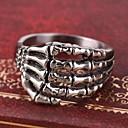 tanie Pierścionki-Męskie Pierścień oświadczenia / Pierscionek - Spersonalizowane, Vintage, Na co dzień Silver Na Codzienny