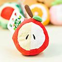 رخيصةأون أدوات الفرن-تفاحة على شكل أفخم لعب للكلاب والحيوانات الأليفة