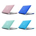 ieftine Machiaj & Îngrijire Unghii-MacBook Carcase Mată / Transparent Plastic pentru MacBook Pro 13-inch / MacBook Pro 15-inch