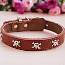 preiswerte Hundehalsbänder, Geschirre & Leinen-cody Schädel der Art Kuh Lederhalsband für Haustiere Hunde