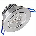hesapli LED Gömme Işıklar-Tavan Işıkları Panel Işıkları Gömme Uyumlu 3 led SMD 2835 Kısılabilir Sıcak Beyaz 500-550lm 3000-3500K AC 220-240V