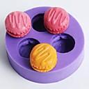 hesapli Fırın Araçları ve Gereçleri-Bakeware araçları Silikon Kauçuk Çevre-dostu / Yapışmaz Kek / Kurabiye / Çikolota Pişirme Kalıp 1pc