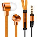 hesapli Ses ve Video Kabloları-JTX Kulakta Kablolu Kulaklıklar Aluminum Alloy Cep Telefonu Kulaklık Gürültü izolasyon kulaklık