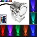 hesapli Kolyeler-LED Spot Işıkları / Sualtı Işıkları Kısılabilir / Uzaktan Kumandalı RGB 85-265 V Banyo / Açık Hava Aydınlatma 1 LED Boncuklar