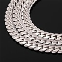 Buy Men's Women's Choker Necklaces Chain Vintage Circle Rose Gold Platinum Plated Filled Alloy Fashion