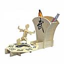 ieftine Colier la Modă-oală perie din lemn tri-dimensională de puzzle