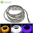 hesapli Yol ışıkları-SENCART 1m Esnek LED Şerit Işıklar 120 LED'ler Beyaz / Mavi / Sarı Kesilebilir / Su Geçirmez 12 V / IP68