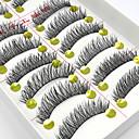 abordables Maquillage & Soin des Ongles-Cil Faux Cils 20 pcs Dense Bouclé Extra Longue Quotidien Maquillage Maquillage de Fête Classique Cosmétique Accessoires de Toilettage