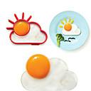 baratos Coleiras, Peitorais e Guias para Cães-1pç Utensílios de cozinha Aço Inoxidável Gadget de Cozinha Criativa Mold DIY para ovos