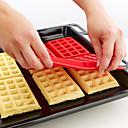 hesapli Saklama ve Organizasyon-Bakeware araçları Silikon Kendin-Yap Tart Pasta Mutfak Yenilik Araçları Dikdörtgen Pasta Kalıpları Kurabiye Kesicileri 1pc