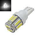 hesapli Diğer LED Işıkları-210 lm T10 Dekoratif Işıklar 10 led SMD 7020 Serin Beyaz DC 12V